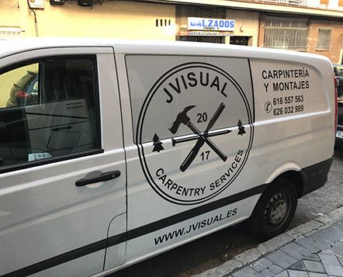 Rotulación furgonetas medianas