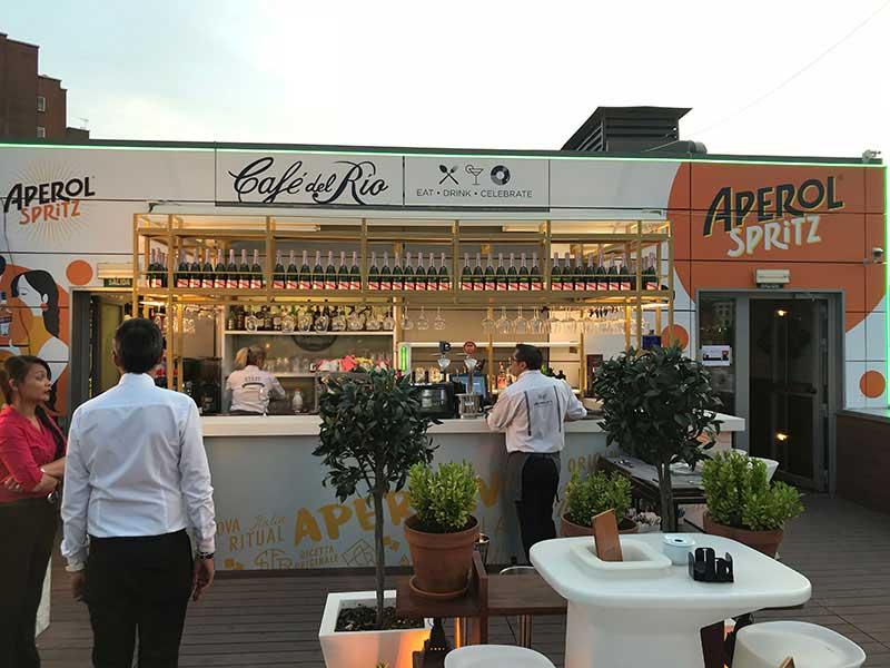 Rotulos para Fachada de Cafe en Madrid